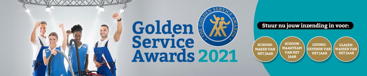 Golden Service Awards 2021: inschrijvingen sluiten 1 september
